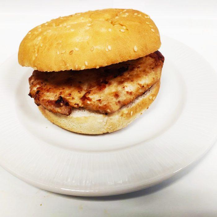 Hamburguesa de pollo sola